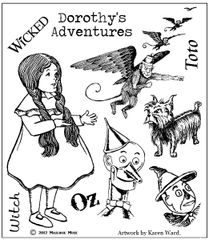 Dorothy and Friends Stamp