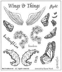 Wings Stamp Plate