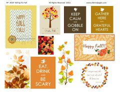 3019 Falling for Fall digital Printable