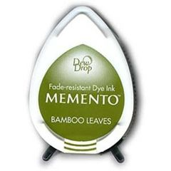 Memento Dew Drops Bamboo Leaves
