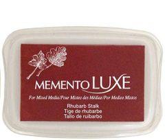 Memento LUXE inkpad Rhubarb