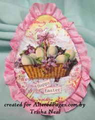 A Happy Easter Card Kit