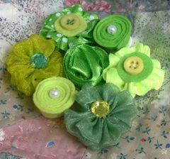 Petaloo Fabric & Ribbon Flowers