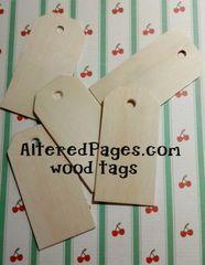 Wood Tags (8)