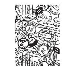 Embossing folder Postmark, Passport