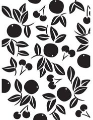 Embossing folder Cherries