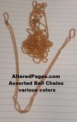 Ball Chains with closures