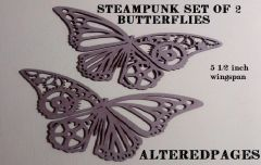 Die Cut Steampunk Butterflies (2)