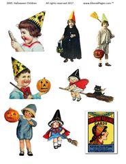 3095 Halloween Children
