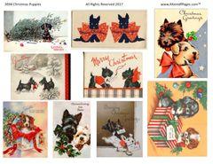 3094 Christmas Puppies