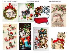 3193 Christmas Kitties DIGITAL
