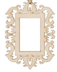 Laser die cut Wood Frame