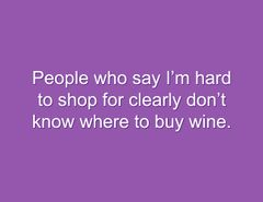 Snarky Stamp Buy Wine Clear