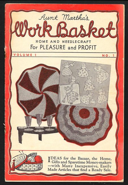 First issue of Workbasket Magazine published October 1935.