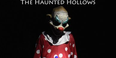 A character from The Haunted Hollows in Hammonds Plains, Nova Scotia.