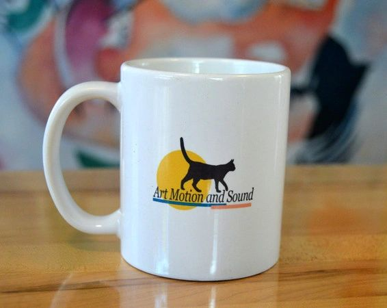 Art Motion and Sound Ceramic Mug