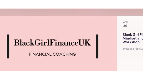 Picture of Black Girl Finance workshop flyer