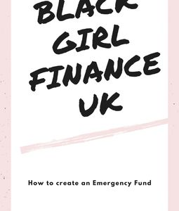 Front cover of black girl finance Emergency fund ebook