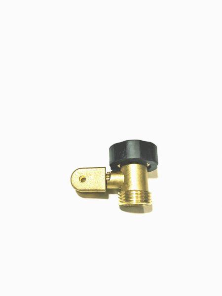 Brass Water Shut Off with Brass Swivel