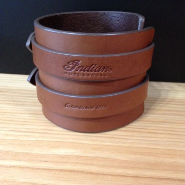 LEATHER BUCKLE CUFF - 2863945