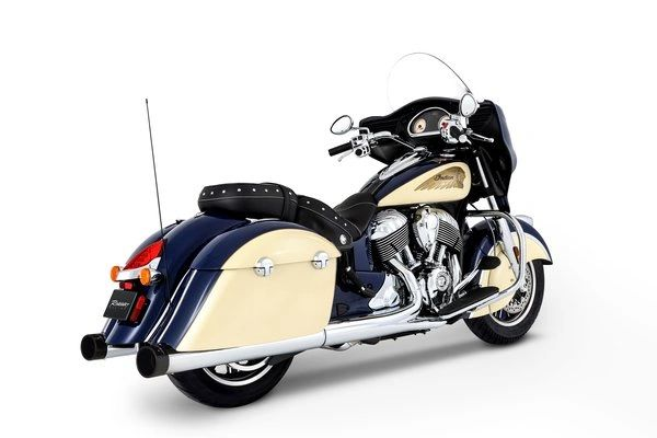 SLIP ON RINEHART RACING CHROME - CHIEFTAIN/ROADMASTER - A - 500-0502