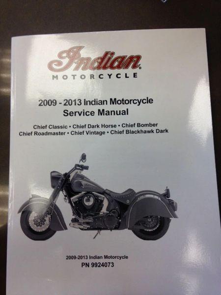 MANUAL 2009-2013 INDIAN MOTORCYCLE SERVICE MANUAL - IMC - 9924073