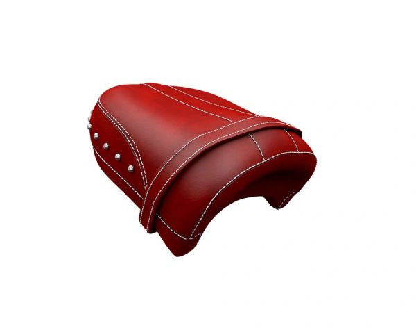 GENUINE LEATHER PASSENGER SEAT RED - 2881766