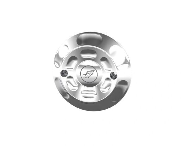BILLET PRIMARY COVER CHROME - 2881999-156