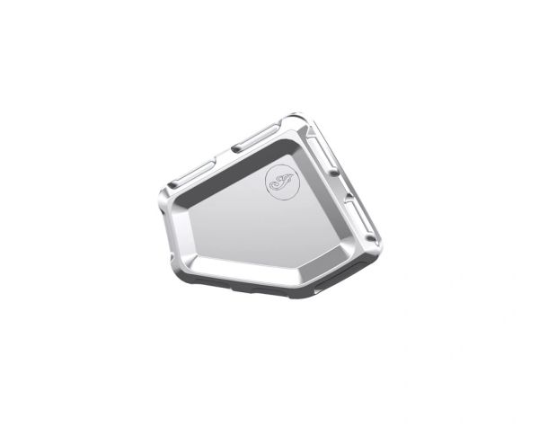 BILLET MIDFRAME COVER CHROME - 2882006-156