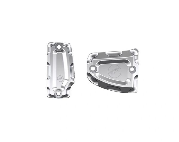 BILLET MASTER CYLINDER COVER CHROME - 2882008-156