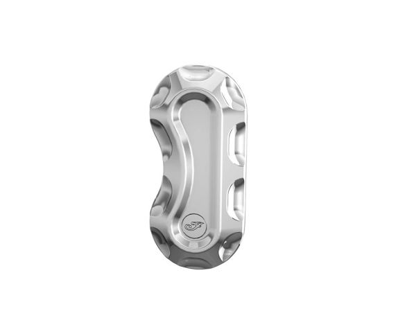 BILLET FRONT CALIPER COVER CHROME - 2882009-156