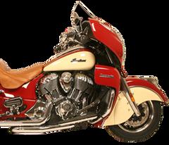 Exhaust Header Pipe - Rush Dual Header Pipe - Chrome OR BLACK - I1005 - I1105