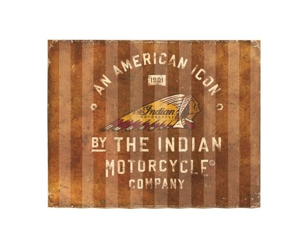 Gameroom - INDIAN AMERICAN ICON CORRUGATED SIGN - 2863976