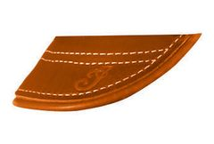 GENUINE LEATHER TOURING FRONT MUD FLAP - 2880102-05