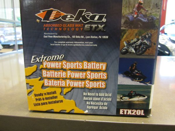 Deka Battery ETX20L - All Chiefs - ETX20L