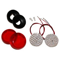 Indian Rear Turn Signal/Lens Kit, Fits 2014-Up Models except Scout - NITS-R02