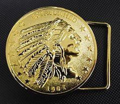 Gold Belt Buckle - CI-6000G
