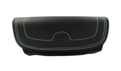 GENUINE LEATHER HANDLEBAR BAG BLACK - 2879577-01