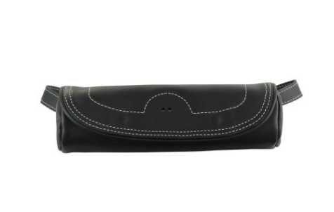 GENUINE LEATHER FORK BAG BLACK - 2879667-01