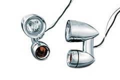 Constellation Driving Lights with Turn Signals Chrome - 5009