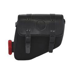 SCOUT BOBBER BLACK SADDLE BAG - 2882518-01