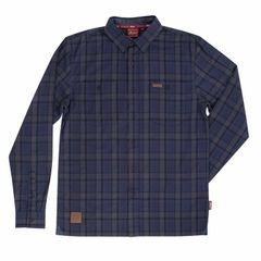 Casualwear - NAVY PLAID SHIRT - 2867586