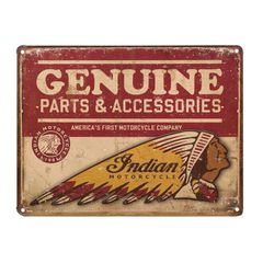 Gameroom - GENUINE PARTS & ACCESSORIES SIGN - 2864421
