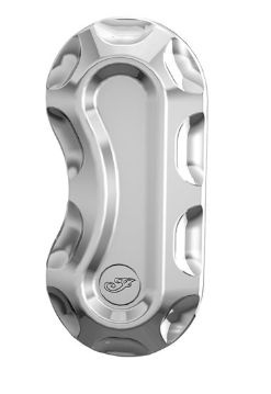 BILLET FRONT CALIPER COVER CHROME - 2882307-156