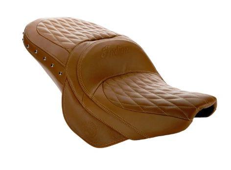 GENUINE LEATHER TOURING HEATED SEAT DESERT TAN - 2882563-06