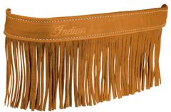 GENUINE LEATHER FLOORBOARD TRIM W/ FRINGE DESERT TAN - 2879555-05