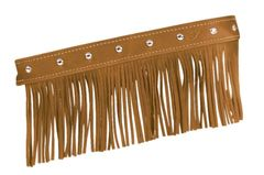 GENUINE LEATHER FLOORBOARD TRIM FRINGE W/STUDS DESERT TAN - 2879555-06