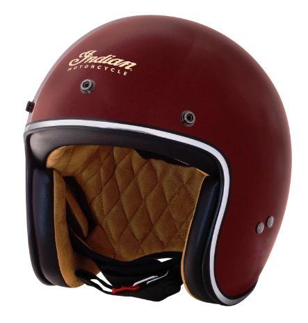 Helmet - RETRO OPEN FACE HELMET RED - 2868872