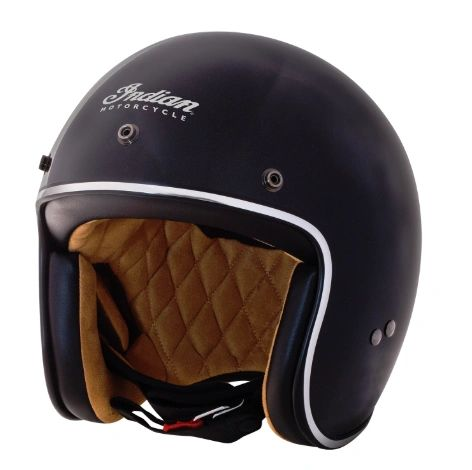 Helmet - RETRO OPEN FACE HELMET BLACK - 2868870