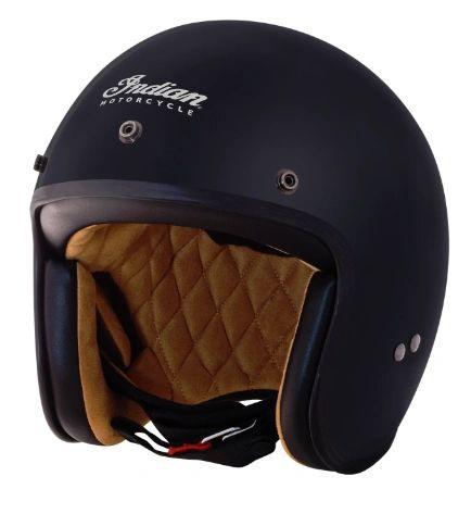 Helmet - RETRO OPEN FACE HELMET MATTE BLACK - 2868869